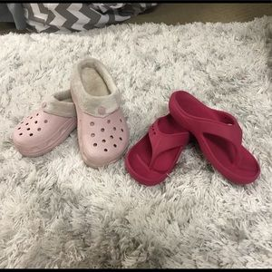 Other - ✨2 for $25✨Girls Crocs